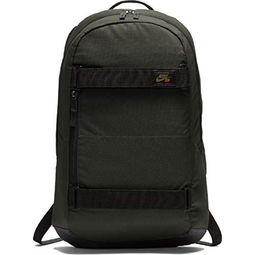 Nike Mens SB Courthouse Backpack BA5305-357 - SEQUOIA/BLACK/OLIVE FLAK