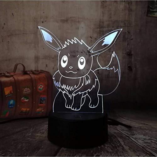 HHYXIN Nachtlicht Spielzeuglicht Der Spielzeugnachtlicht-Tätigkeit Led Der Tasche 3D Geschenkgeburtstag Halloween-Weihnachtslichter Der Kinder Mit 7 Farben