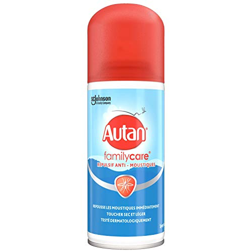 petit Autan 321040 Family Care – Spray – Anti-moustique – Spray sec et léger – Spray – 100 ml