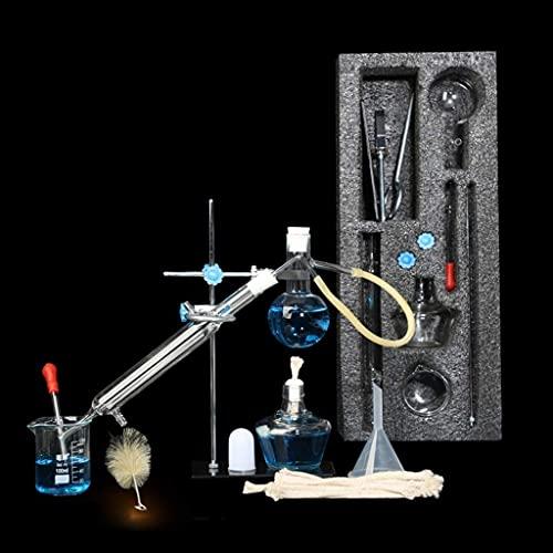 LSWY Equipo de Vida Laboratorio Distiller Destilación Hogar Dispositivo Conjunto Escolar Equipo de enseñanza química Purificación Pure