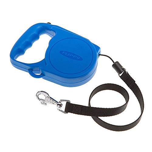 Ferplast 75002025 Roll-Leine für Hund und Katze, Flippy small, L: 5 m, Dog: max.12 kg, blau