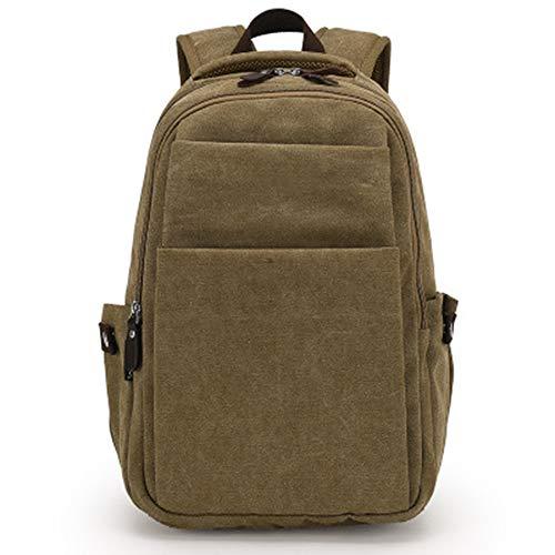 Jiayi Vintage-rugzak, grote capaciteit, voor vrije tijd, reizen, multifunctioneel, mannen, rugzak