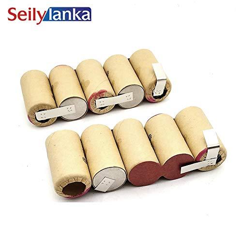 Seilylanka 3000mAh per Black Decker 10.8V Ni MH Batteria batteria CD aspirapolvere Dustbuster Flexi PD1080 PD 1080 per auto-installazione