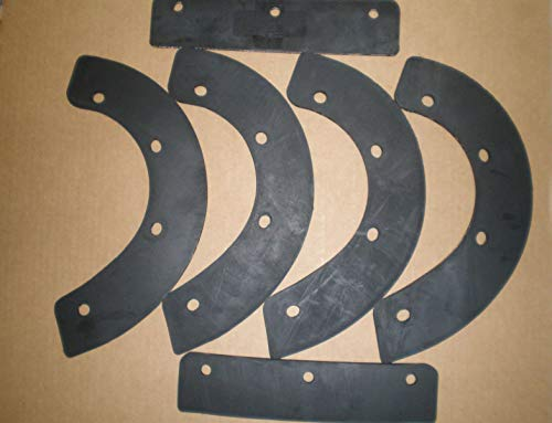 Read About VacuuMParts OEM Replacement USA Made 6 Piece Paddle Set FITS Honda HS521, HS621 SNOWBLOWER