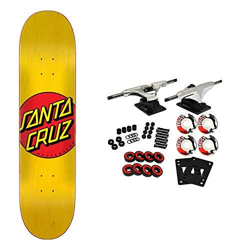"Santa Cruz Skateboards Complete Classic Dot Yellow 7.75"" x 31.61"""