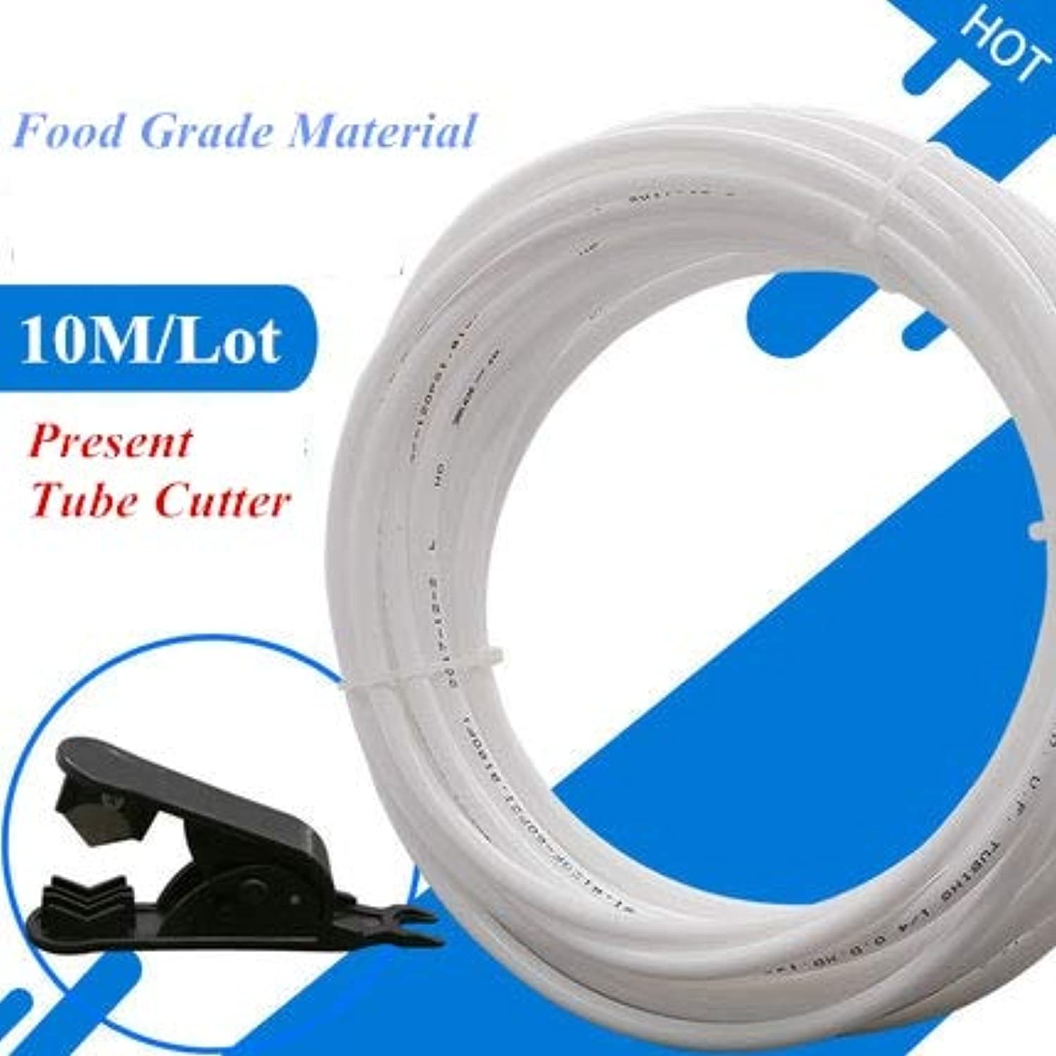 Fumak  10M Food Grade Water Filter RO Hose White Hose Tube PE Pipe 1 4  Use for RO Water System