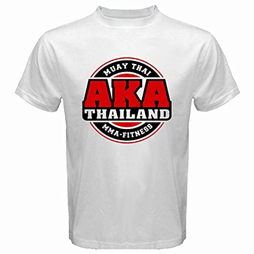 AKA Thailand Gym Logo Muay Thai MMA Kick...