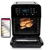 Nuwave 38001 Programmable Digital Air Fryer, Black, 14 Quart