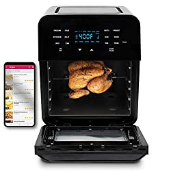 top rated NUWAVE BRIO14 Quart high performance air fryer with digital touch screen and … 2021
