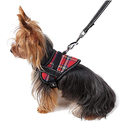 PLing Summer Leash for Samll and Medium Sized Dogs Safety Belt Chest Harness