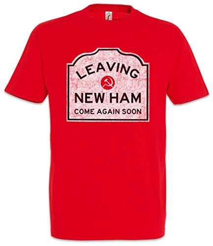 ouy verlaten nieuwe ham teken T-Shirt de weg teken maatschappij symbool logo allie Becca