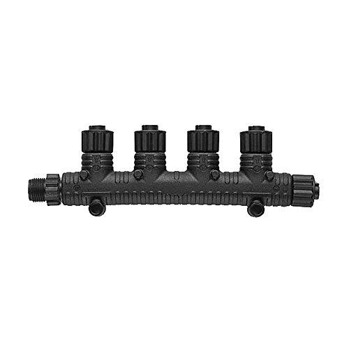 Garmin 0101107801 NMEA 2000 Multiport T-Connector,Black,Medium