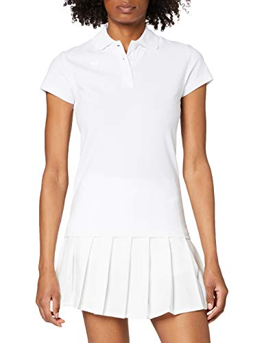 erima Damen Poloshirt Teamsport, weiß, 38, 211351