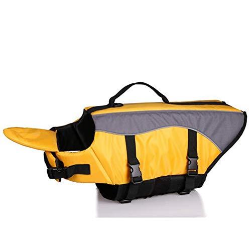 Feidaeu Pet Schwimmweste Jacke Sicherheitskleidung Atmungsaktiv Komfortabel und langlebig Bademode Erhalter Badeanzug