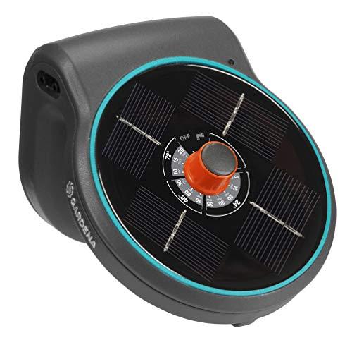 GARDENA Solar-Bewässerung AquaBloom Set: Solarbetriebenes Bewässerungssystem für Balkon- und Kübelpflanzen, bis zu 4 m Höhe, Saison unabhängig (13300-20)