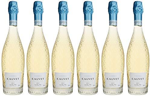 Calvet Celebration, Premium Weiss Sekt aus Frankreich, (6 x 0,75 l)