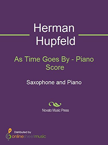 As Time Goes By - Piano Score (English Edition)