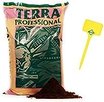 Weedness Canna Terra Professionell 50 litros - Tierra para macetas Crecen Plantas de balcón Tierra para macetas Tierra...