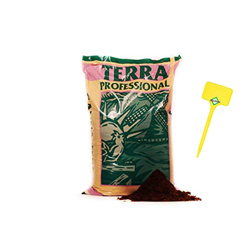 Weedness Canna Terra Professionell 50 litros - Tierra para macetas Crecen Plantas de balcón Tierra para macetas Tierra de jardín Tierra de Tomate