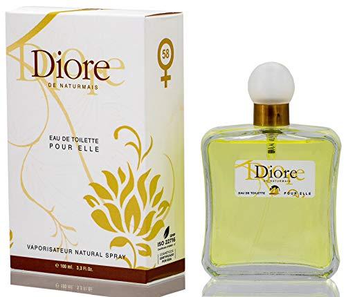 Diore Eau De Parfum Intense 100 ml. Compatible con J'adore, Perfume Equivalente de Mujer