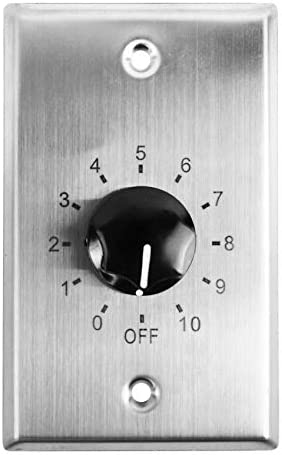 Rockville VOL7035 White 35w 70v Wall Volume Control Zone Controller Box 1 Gang product image