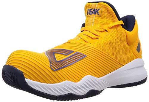 [ピーク] ワーキングシューズ JSAA A種認定 安全靴 セーフティー J,HILLモデル シフトラバーバット搭載 メンズ イエロー 26.5 cm 3E