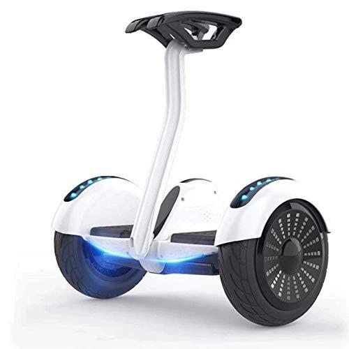 Lamyanran Hoverboard Elektro Scooter Intelligente Self-Balancing Elektro Transporter, Adult Elektro-Zweirad-Balancing Auto, Intelligent Zweirad-Scooter mit Handhebeln Ausgewogene Roller