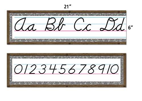 Teacher Created Resources Home Sweet Classroom Cursive Mini Bulletin Board (TCR8884) Photo #2