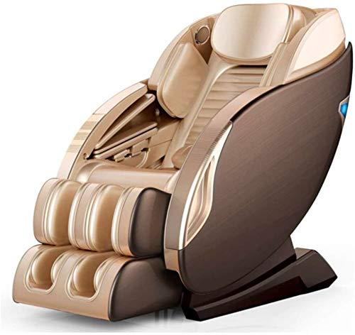 CLOTHES Sillas De Masaje Cuerpo Completo Y Reclinable, Masaje de Silla hogar Multifuncional de Cuerpo Completo el Espacio eléctrica sofá de música Bluetooth