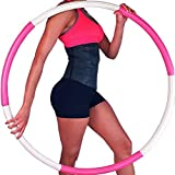 Best Hula Hoops - Weighted Hula Hoop for Adults, Premium 6 Section Review