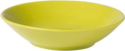 TheKitchenette Lot de 4 Assiette Creuse 20,5cm en Faience Vita Coloris Taupe