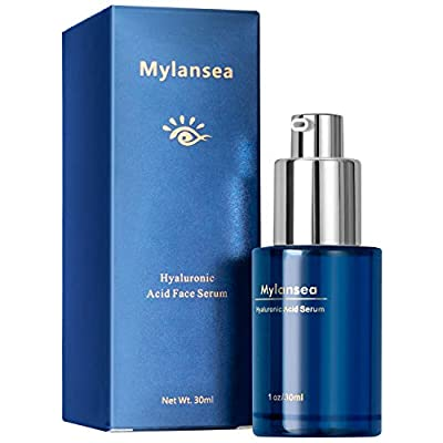 Hyaluronic Acid Serum for Face Ultimate Hydrating - Mylansea Face Serum with Niacinamide for Evening Skin Tone, Lighting Dullness
