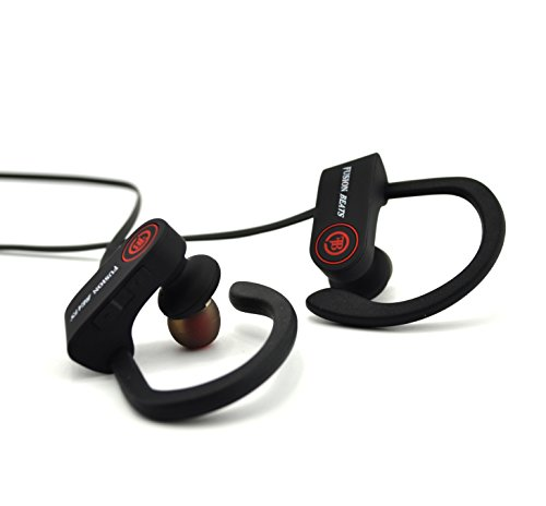 Fusion Beats Bluetooth Headphones / Best, Noise Cancelling Wireless Sports Earphones / Sweatproof Earbuds for Gym Running / Up to 8 Hours of Working Time / Built-in Mic Headsets 3