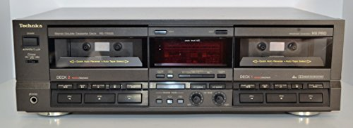 Technics RS-TR555 (Rare) Dual/Double Cassette Deck DBX Dolby B-C HX PRO - http://coolthings.us