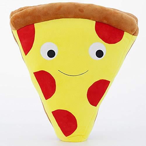 Romote 1Pc Pizza Forma Alimentari Cuscino Peluche ripiene Alimentari Giocattolo Decorativo del Cuscino Bambini BoysGift 50 Centimetri