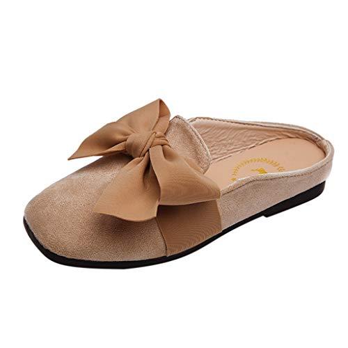 H.eternal(TM) zapatos casuales cómodos para bebés, niños y niñas, zapatos casuales, sandalias cerradas para caminar, color Verde, talla M