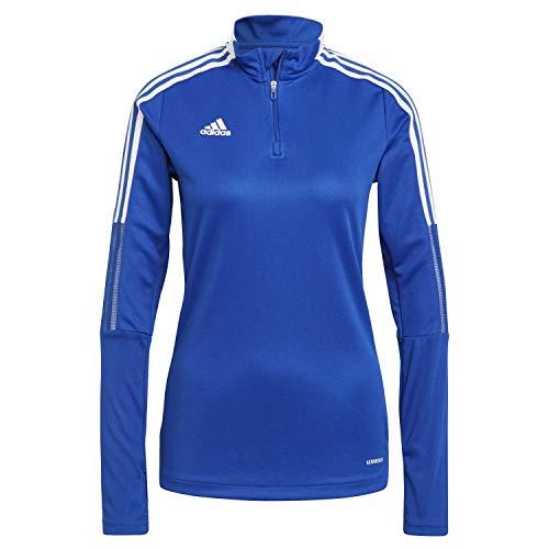 adidas GM7316 TIRO21 TR Top W Pullover Donna Team Royal Blue M