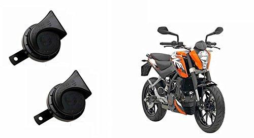 Roots Wind Tone Skoda Type Bike Horn (Set of 2)-KTM Duke 200
