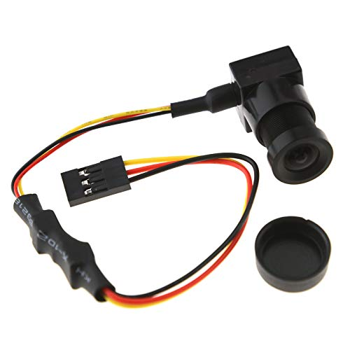 700TVL Mini CCD PAL lente de cámara con salida de audio para RC Quadcopter FPV 3,6 mm