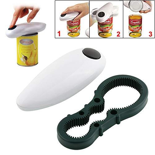 One Touch Automatic Dosenblechöffner Elektrisches Freisprech-Werkzeugset mit Flaschenschlüssel
