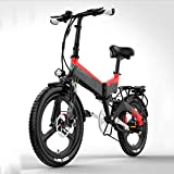 SHJC Elektrofahrrad Faltbares Mountainbike,...