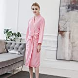 Handaxian Pijamas Casuales para Mujer Bata de Kimono Suave gofre Servicio a Domicilio Pijama camisón