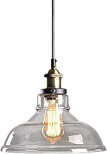 Moderne Loft pendentif lumière, Vintage Suspension Abat-jour Bar Lustre Couloir Cuisine éclairage E27 Bronze Luminaires-C1 (Couleur   A1)