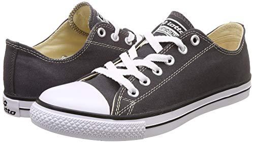 Product Image 7: Lotto Men's Atlanta Neo Dark Grey/White Sneakers