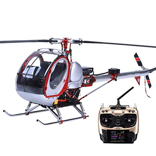 SHIYANLI JCZK 300c Scale Smart Drone 6CH RC Helicopter 450L Heli 6CH 3D 6-axis-Gyro Flybarless GPS Helicopter RTF 2.4GHZ Drone with One-Key Return