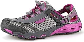 أحذية Upstream - أحذية رجالي للرحلات في الهواء الطلق أحذية رياضية للمشي لمسافات طويلة قابلة للتنفس واقية مائية خفيفة شبكية...