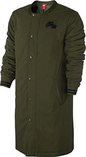 Nike M NK Air Varsity Jacket Jacke für Basketball für Herren, Grün (Legion Green/Black), S