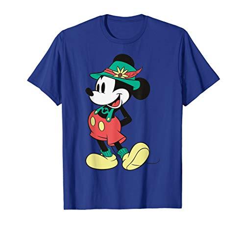 Disney Mickey Mouse Happy Lederhosen Portrait T-Shirt