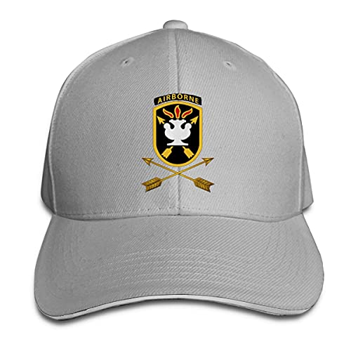Ahdyr Sombrero Unisex JFK Special Warfare Center - School SSI W Branch Wo Gorras de béisbol Gorras Sandwich