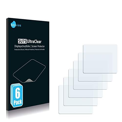 Savvies 6X Schutzfolie kompatibel mit Qualcomm Toq Displayschutz-Folie Ultra-transparent